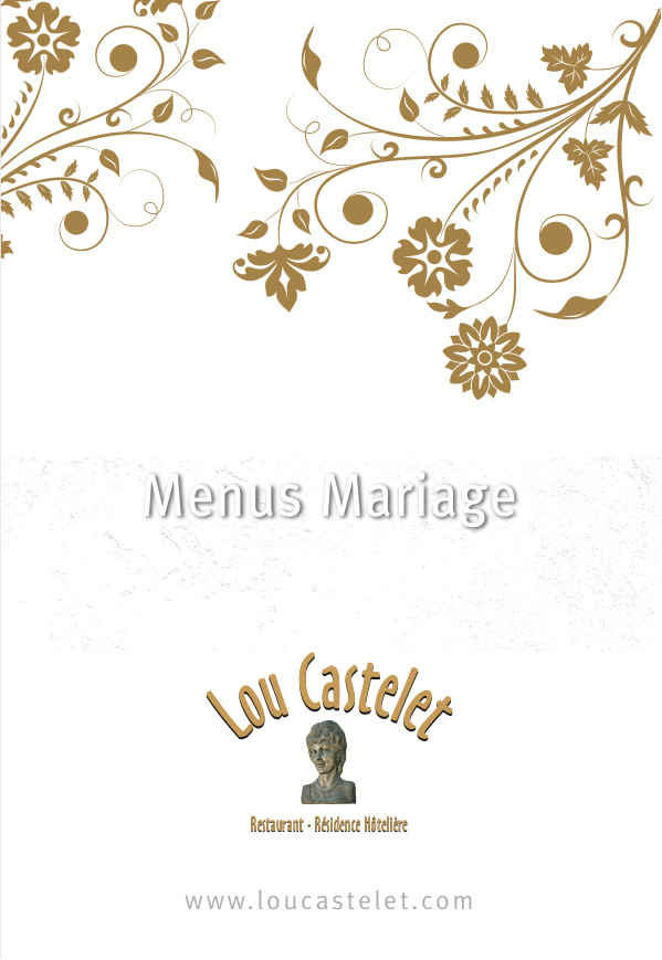 choisir entre le menu dgustation et le menu gala ambassadeur ou encore le cocktail qui enchantera vos convives nest pas chose simple - Lou Castelet Carros Mariage