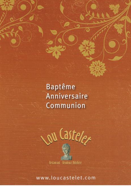 fidle sa rputation les menus de fte que nous vous proposons ci dessous sont labors par notre chef robert ducros vritable connaisseur de la cuisine - Lou Castelet Carros Mariage