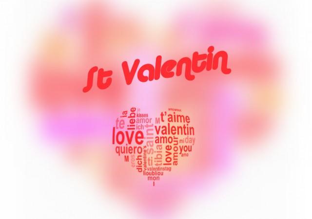 Menu de la St Valentin