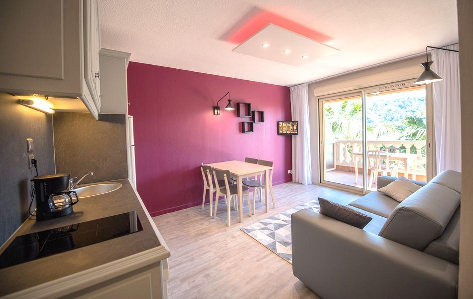 Apparthotel 2 pièces près De Nice 5 Personnes